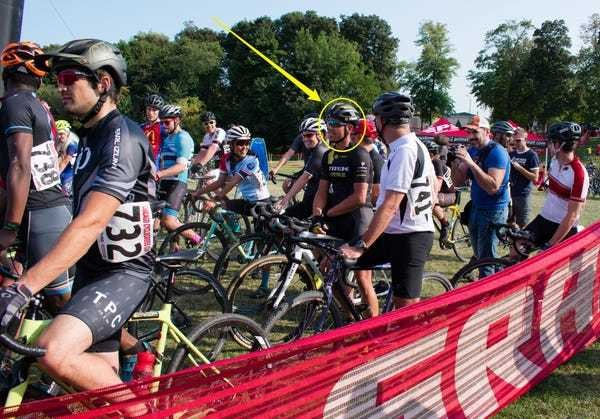 Cycling's Sven Nys jumps into amateur race in Chicago, puts on clinic - Business Insider
