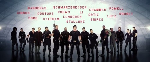 Nearly Every Action Movie Star Is In The First 'Expendables 3' Teaser Trailer