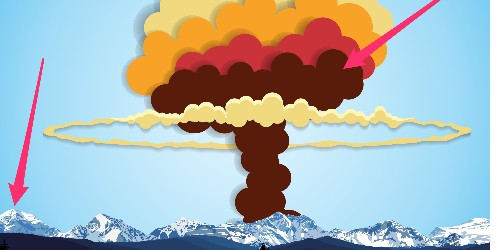 This animation shows how terrifyingly powerful nuclear weapons have become