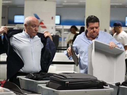 Frustrated travelers are venting on social media about endless lines at airports as TSA agents across the country abandon work during the government shutdown