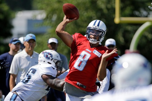 No. 2 NFL Draft pick Marcus Mariota is already blowing people away at Titans training camp