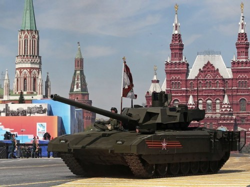 Russia thinks its monstrous new super-tank can resist just about all of NATO's anti-tank weapons