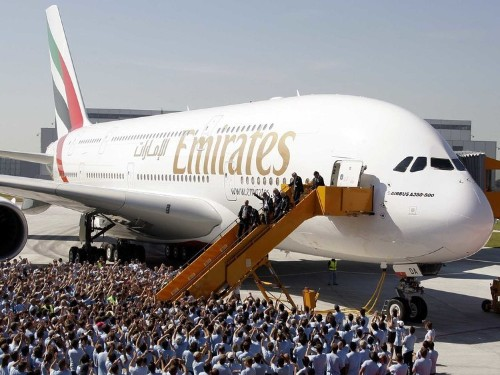 Emirates Is Now Giving Airbus 43 Billion Reasons To Build A New Superjumbo Jet