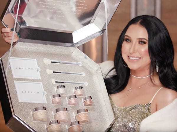 Here's everything featured in Jaclyn Hill's holiday makeup collection - Business Insider