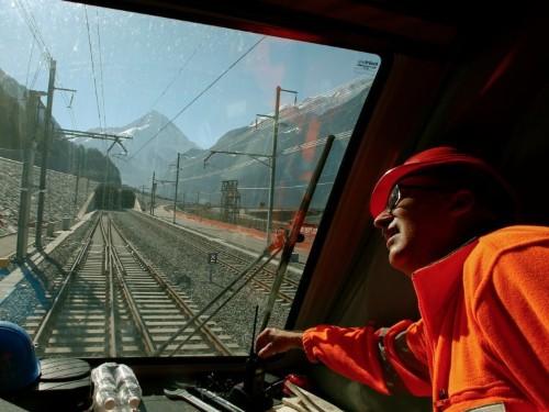 Switzerland is opening the world's longest-ever railway tunnel