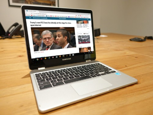 Samsung's latest Chromebook shows the future of Google's laptops — but it has a long way to go