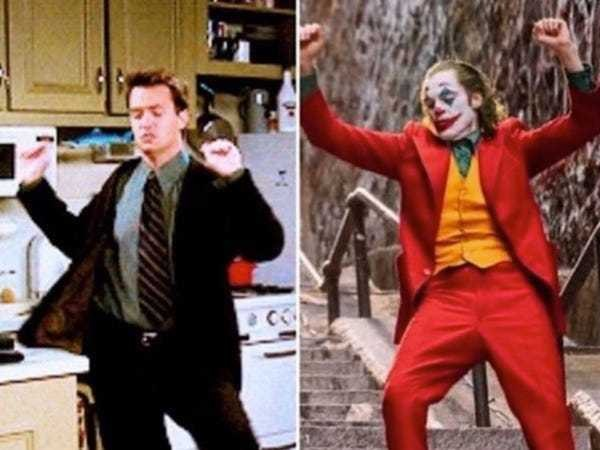 Matthew Perry shares meme of Chandler dancing compared to the Joker - Business Insider