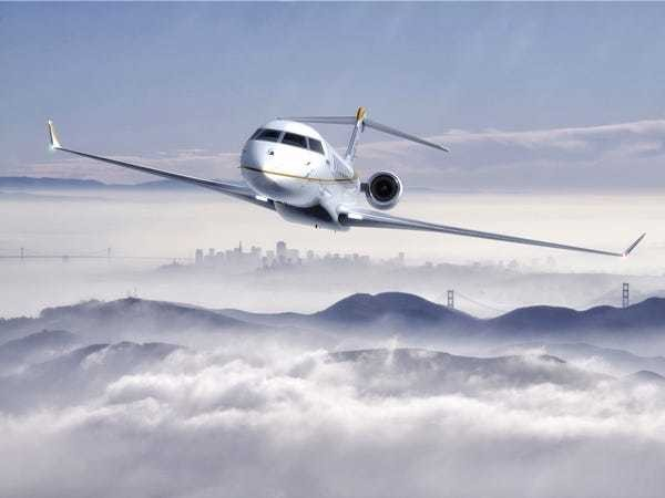 Check out Bombardier's next generation $73 million Global 7000 private jet - Business Insider