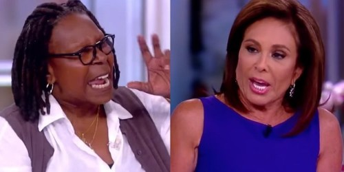 Whoopi Goldberg and Jeanine Pirro got into a shouting match about Trump on 'The View'