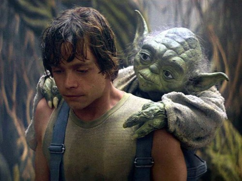 Yoda was supposed to be in the new 'Star Wars' movie, but his role was cut