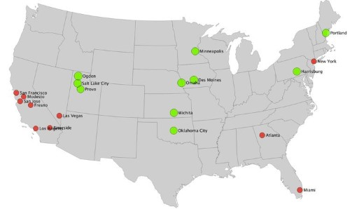Here Are The Cities With The Most And Fewest Employed Teenagers