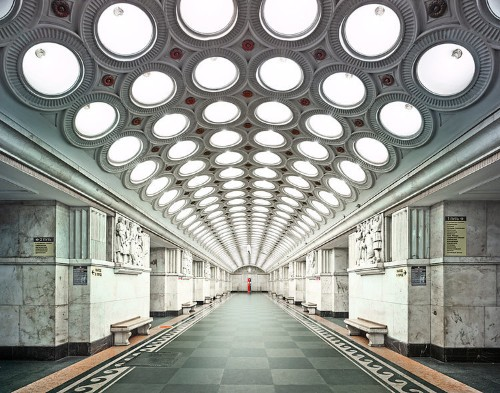 16 photos of Moscow's beautiful Metro stations, built as propaganda during the time of Stalin