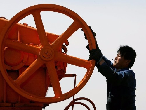 Private equity giants are selling their shale to China