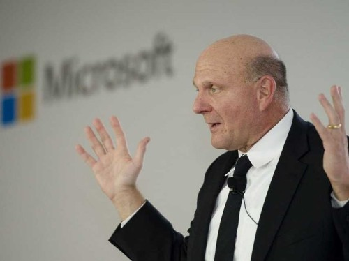 Microsoft CEO Steve Ballmer Makes One Last Pitch To Wall Street In Farewell Meeting
