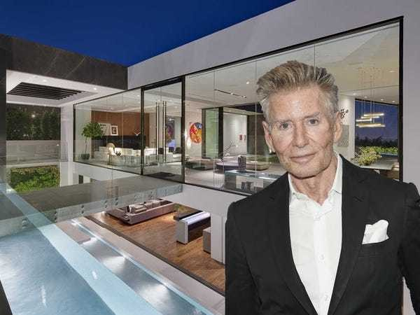 Calvin Klein just bought this masterpiece contemporary mansion for $25 million - Business Insider