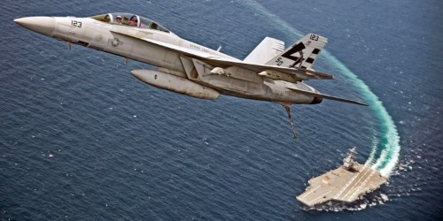 The Navy's new supercarrier can now land all of its planes — except the F-35 stealth fighter