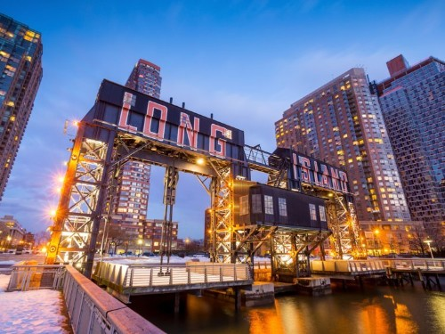 A Long Island City landlord has been accused of paying people to protest against Amazon after it canceled its New York HQ2