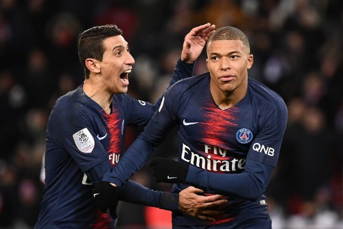 Kylian Mbappe was the best player on the pitch and Angel di Maria scored a pinball free kick as PSG crushed Montpellier 5-1