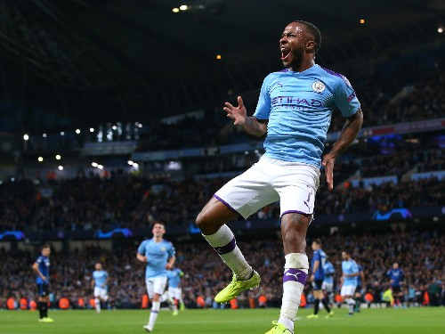 Raheem Sterling scores 11 minute hat-trick as Man City sinks Atalanta - Business Insider