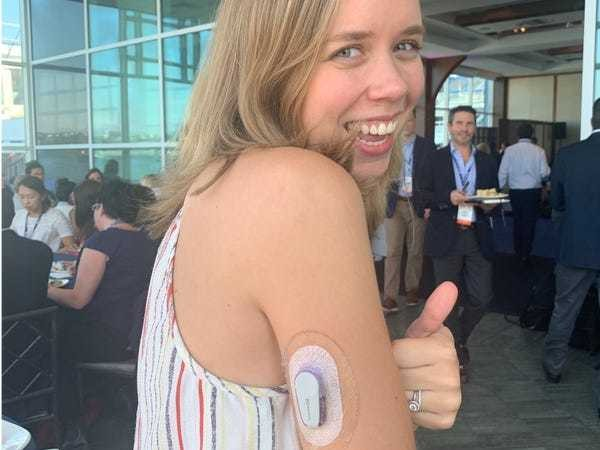 What it's like to track blood sugar with a continuous glucose monitor - Business Insider