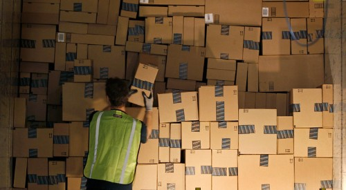 Online retailers are struggling to meet the high standard Amazon set for delivering orders
