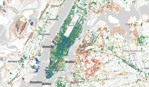 These maps show every job in America with color-coded dots