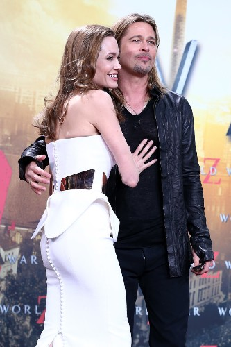 Brad Pitt And Angelina Jolie Smiled Through Bad Press At The Germany Premiere Of 'World War Z'