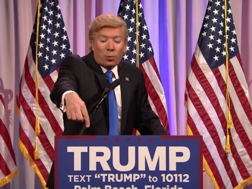 Jimmy Fallon breaks out a scathing Donald Trump Super Tuesday impression: 'I love the KKK'
