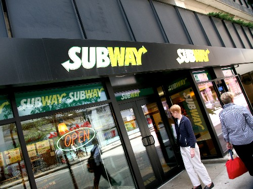 The rise and fall of Subway restaurants