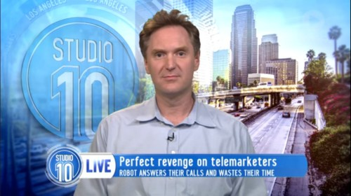 This guy's amazing robot confuses and enrages telemarketers — and you can use it too