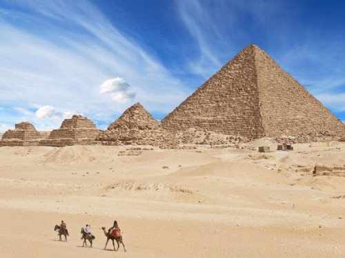 Scientists heat-scanned Egypt's pyramids and found something strange