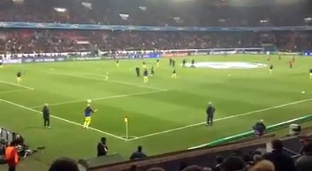 Lionel Messi And A Teammate Passed A Ball Back And Forth From 30 Yards Away Without It Hitting The Ground