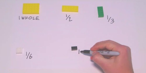 The awesome way teachers are using Lego blocks to teach fractions