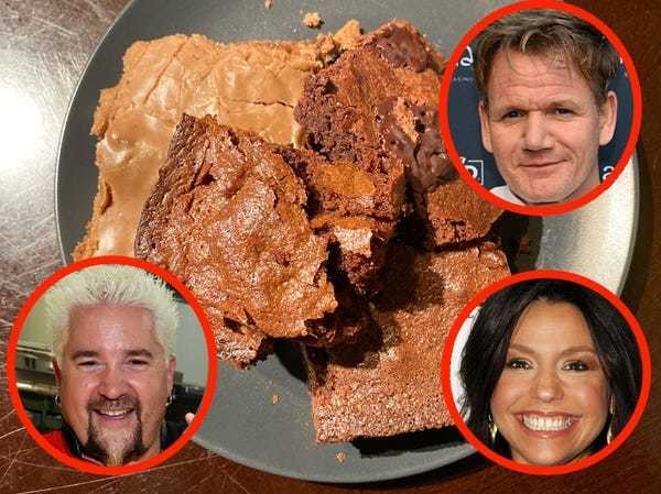 Taste test and review: Which famous chef has the best brownie recipe? - Business Insider