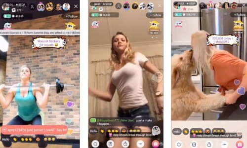 Live-streaming app LiveAF aims to launch the next big influencer