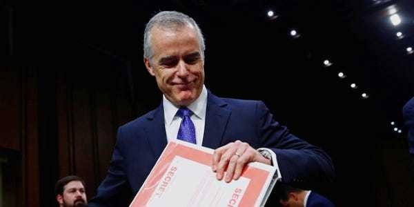 McCabe could pull a Hail Mary to save his pension — but will it work? - Business Insider