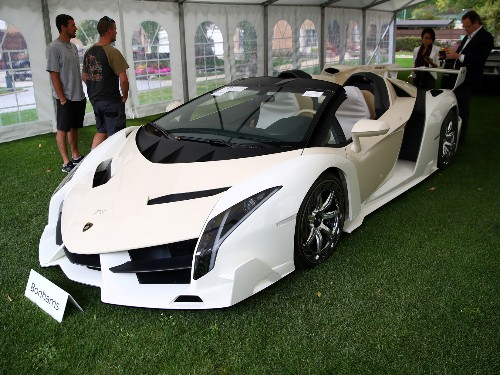 Lamborghini from African dictator's son auctioned for $8 million: photos