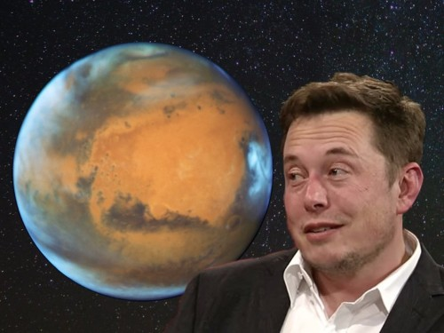 Elon Musk doubled down on his theory on why nuking Mars would be a good idea