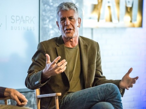 Anthony Bourdain reveals his favorite places to eat in New York City