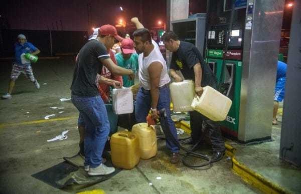 Enrique Pena Nieto response to Mexico gas price protests gasolinazo - Business Insider