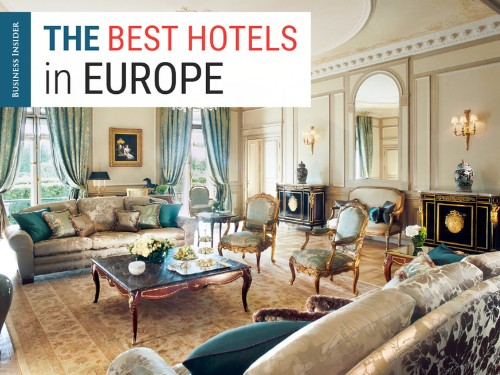 The 34 best hotels in Europe