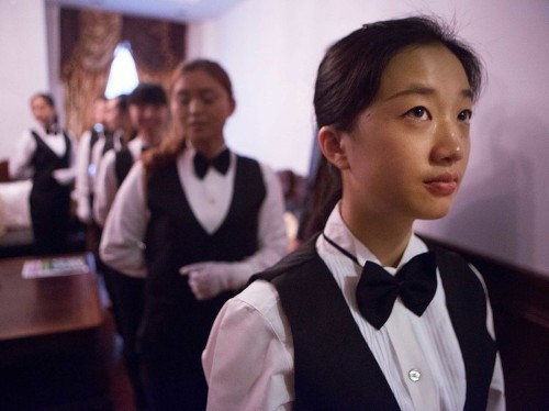 The butler business is booming in China