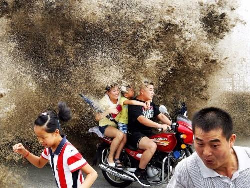 Asian stock markets got walloped