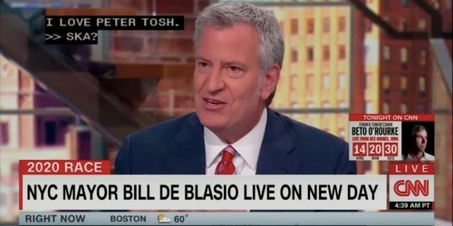 Bill De Blasio said he loves ska music, and the internet is having a field day