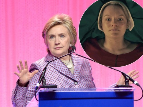 Hillary Clinton uses 'The Handmaid's Tale' to point out what's happening to women's rights