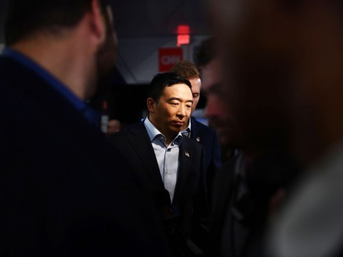 Andrew Yang's Asian jokes rub Asian-Americans the wrong way