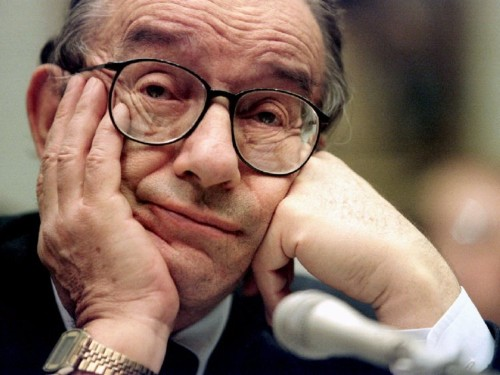 Alan Greenspan wants the US to go back on the gold standard