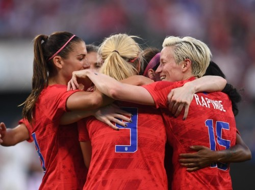US women's soccer games out-earned men's games, despite low pay