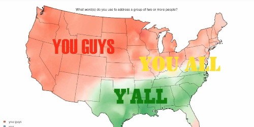 These Maps Prove Americans Speak Totally Different Versions Of The English Language