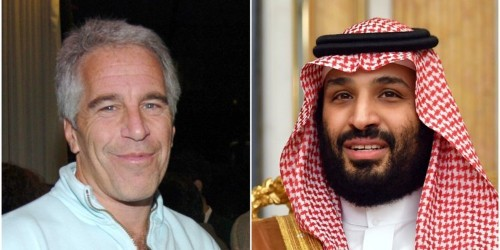 Why did Jeffrey Epstein's private jet fly to Riyadh on the eve of the 2016 election?